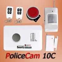 Охранная сигнализация GSM 10C PoliceCam комплект