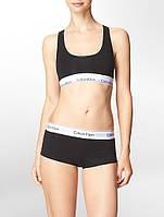 Комплект нижнего белья Calvin Klein топ и шорты черный