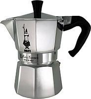Кофеварка гейзерная Bialetti Moka express на 3 чашки 0001162