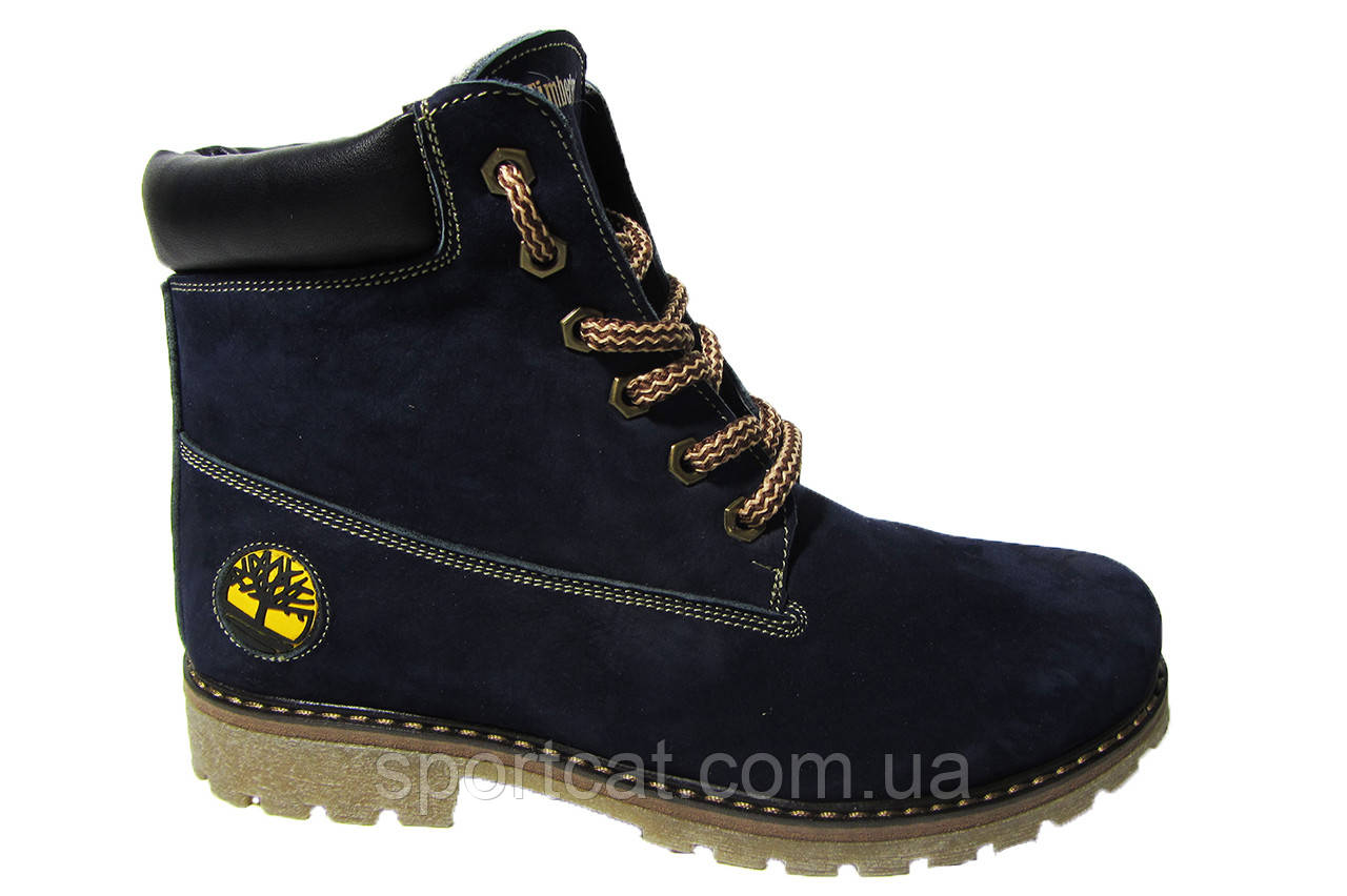 50d7f7c4bb65 Женские ботинки Timberland натуральная кожа, синие Р. от интернет ...