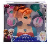 Манекен голова куклы Frozen для причесок и макияжа