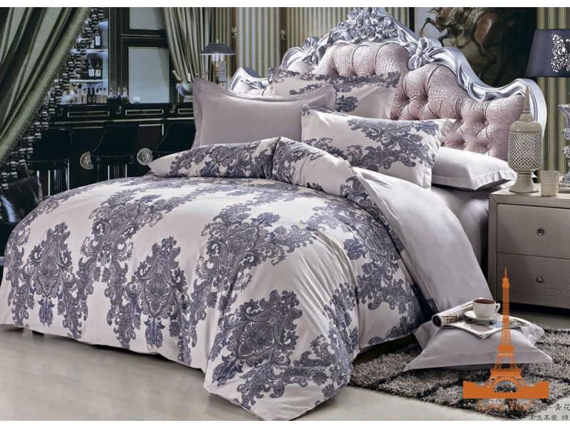 Комплект постельного белья Евро Love You 200Х220 Сатин-лайт TL 16161