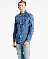 Джинсовая рубашка Levis Classic Western Shirt  - Pieced Stone Light