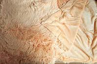 Пушыстое меховое покрывало евро размера