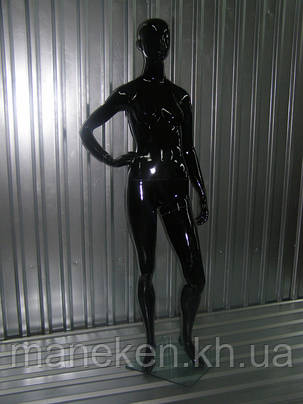 Манекен в полный рост МХ-001,черный, фото 2