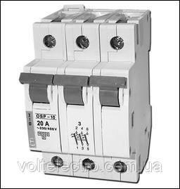 Ограничители тока OSP-6, OSP-10 3-полюсные