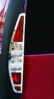 Fiat Doblo 2001 хром накладки на стопы OmsaLine