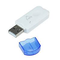 БЛЮТУЗ - USB Беспроводной Флешка Audio Музыка приемник Адаптер для компьютера, автомобиль, гарнитуры,