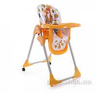Стульчик для кормления Bertoni Yam-Yam Orange Giraffes