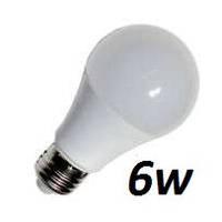 Лампа Lemanso LED 6W A60 E27 500LM 4500K мат. / LM348