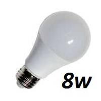 Лампа Lemanso LED 8W A60 E27 650LM 4500K мат. / LM347
