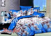 """Комплект постельного белья двуспальный евро """"Сладкие грёзы""""."""