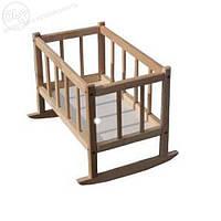 Ліжко для ляльок БУК 25*45*35см(розібране)