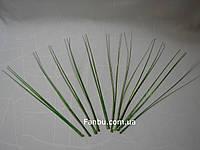Искус.блестящая(зеленая) новогодняя трава,h-30см (1 уп.-10 штук)