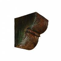 Консоль декоративная DecoWood ED016 темная, лепной декор из полиуретана