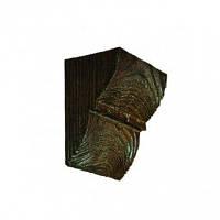 Консоль декоративная DecoWood ED017 темная, лепной декор из полиуретана