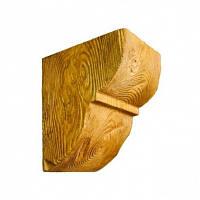 Консоль декоративная DecoWood EQ015 светлая, лепной декор из полиуретана