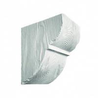 Консоль декоративная DecoWood EQ015 белая, лепной декор из полиуретана