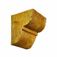 Консоль декоративная DecoWood EQ016 светлая, лепной декор из полиуретана