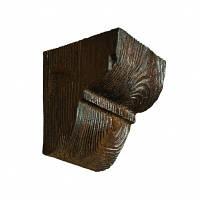 Консоль декоративная DecoWood EQ016 темная, лепной декор из полиуретана