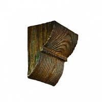 Консоль декоративная DecoWood EQ017 темная, лепной декор из полиуретана