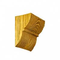 Консоль декоративная DecoWood EQ017 светлая, лепной декор из полиуретана
