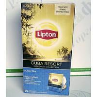 Чай Lipton Cuba Resort 25*2г черный (24)