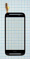 Тачскрин сенсорное стекло для HTC 608t black