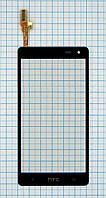 Тачскрин сенсорное стекло для HTC Desire 600 black