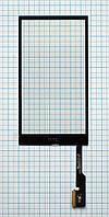 Тачскрин сенсорное стекло для HTC One M8 black