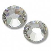 Камни Swarovski, прозрачные, 50шт. в баночке (2 мм.)