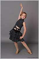 Юбка для бальных танцев - латина «Каламбур»