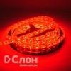 Cветодиодная лента  SMD 3528, 60 диодов в силиконе, красная