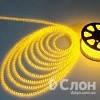 Cветодиодная лента SMD 3528, 60 диодов, в силиконе, желтая.
