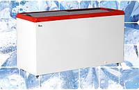 Морозильный ларь с прямым стеклом M400 P