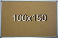 Пробковая доска 100х150 см, фото 1