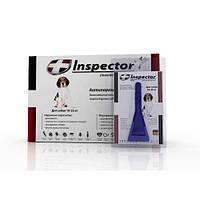 Inspector (Инспектор) капли против внешних и внутренних паразитов для собак от 10 до 25 кг (1 пипетка)