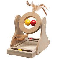 Karlie-Flamingo (Карли-Фламинго) TUMBLER Тумблер игрушка для котов, дерево