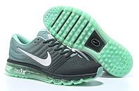 Кроссовки мужские Nike air max 2017 Green. повседневные кроссовки найк