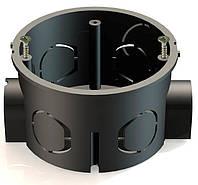 Коробка   модульная   (без  винтов),  d 60 д/набора   100 шт/уп