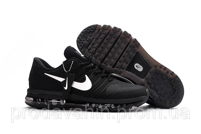 14eb2ac6 Мужские беговые кроссовки Nike air max 2017 Black. мужские найк аир макс -  Интернет-