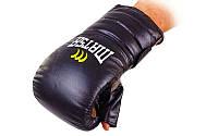 Снарядные перчатки с открытым большим пальцем Кожа MATSA