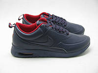 Кроссовки мужские Nike Ultra Black-red leather