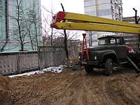Монтаж и демонтаж баннеров с автовышки