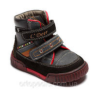 "Ботинки для мальчика ТМ ""B&G"", размер 21"