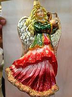 Ангел ручной работы эксклюзивные елочные игрушки
