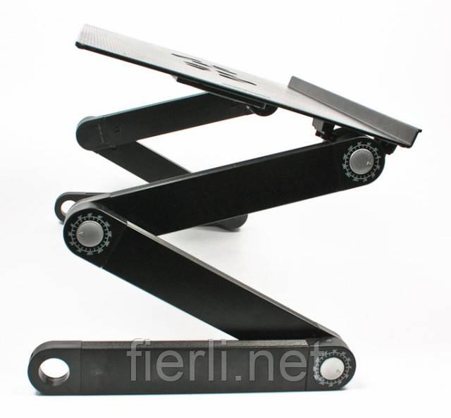 Підставка столик для ноутбука 2 USB кулера