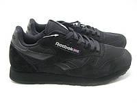 Кроссовки мужские  Reebok GL 6000 Suede Black -