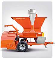 Упаковочная машина с дробилкой для зерновых рукавов