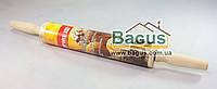 Скалка деревянная с вращающимся валиком (длина - 45см) Empire (EM-9673)